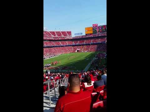 2016 49ers vs Houston preseason game 8/14/16
