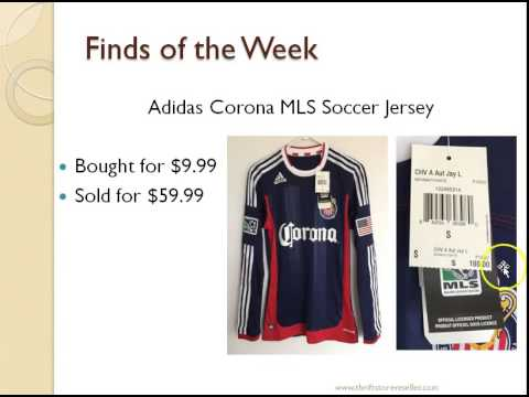 From Thrift Stores to eBay Soccer Jersey - YouTube 0eaab0075