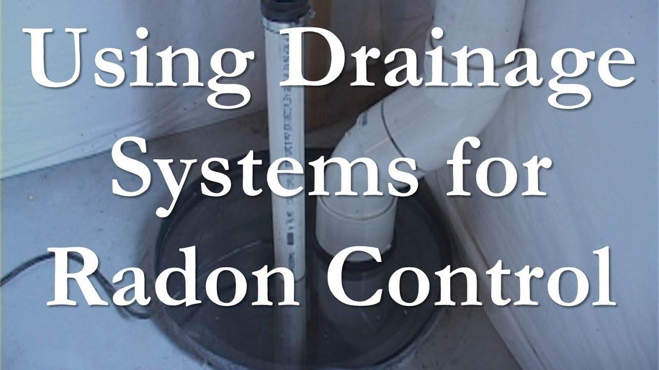 Using Drainage Systems To Mitigate Radon Youtube