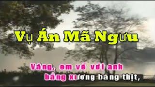 Vu an ma nguu karaoke hat voi Tony Tran (thiếu giọng nữ)