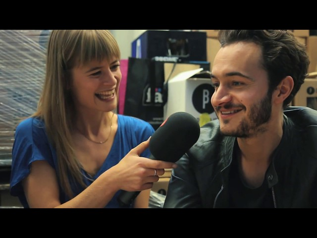 Editors - Eva De Roo Interviews Editors for Studio Brussel 31st October 2015