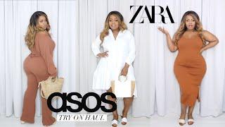 Is Zara Fat Girl Friendly? Plus Size Asos & Zara Try On Haul   Edee Beau