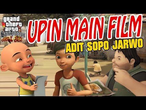 Upin ipin main FILM Adit Sopo Jarwo GTA Lucu