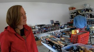 Her Son's Lifelong Collection Filled the Entire Garage