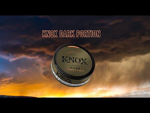 Vi testar snus - KNOX Dark Portion (SKYHÖGA POÄNG)
