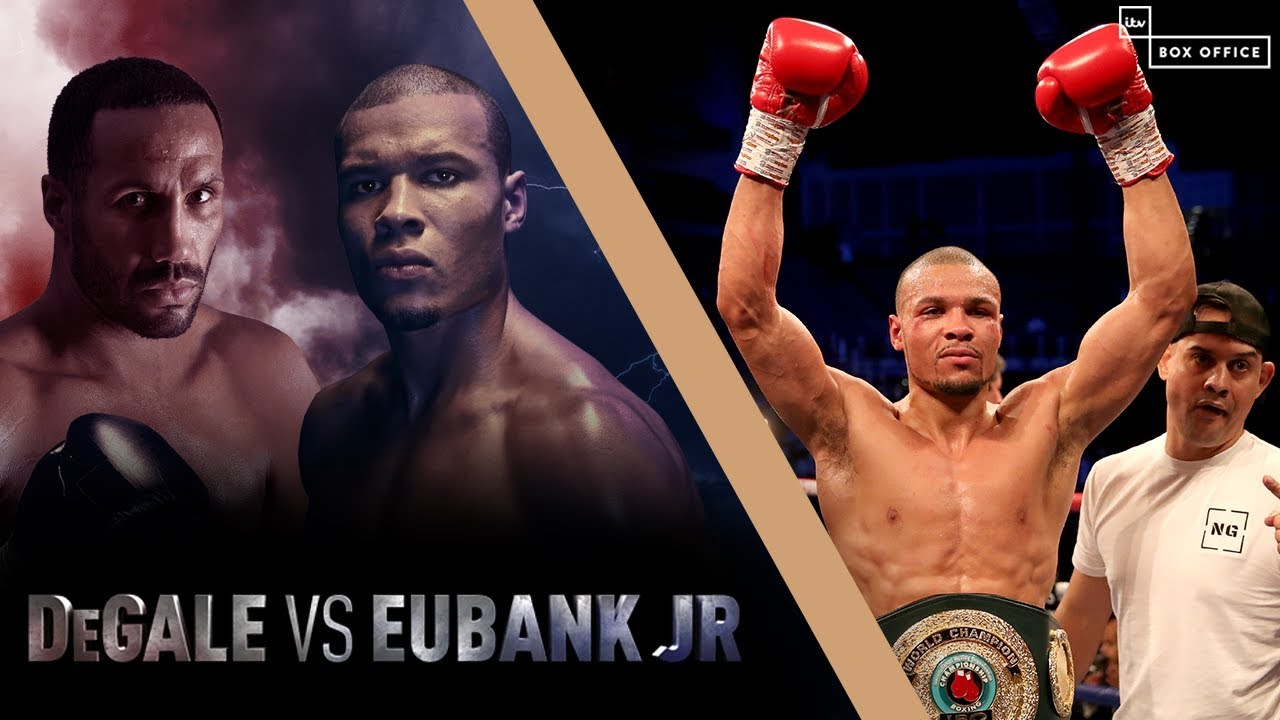 Джеймс Дигейл – Крис Юбэнк / Degale vs. Eubank Jr - highlights