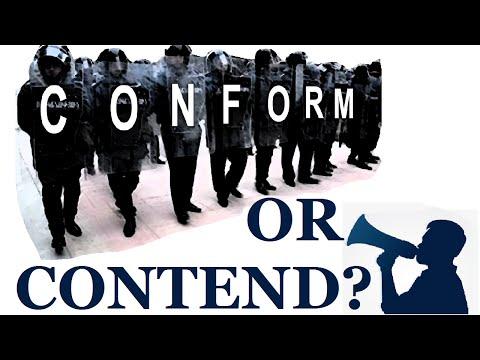 Conform or Contend?