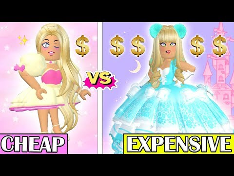 I Wore The MOST CHEAP vs MOST EXPENSIVE Outfits In Royale High... Roblox Royale High Outfits
