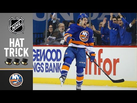 Barzal earns first career NHL hat trick