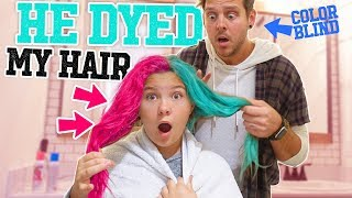 We colored Jaedyn's hair!! How does it turn out?! GET OUR MERCH ➡ h...