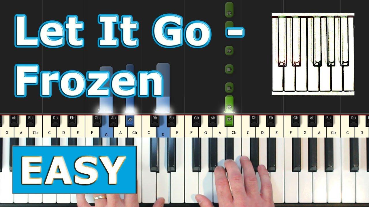 easy piano sheets frozen