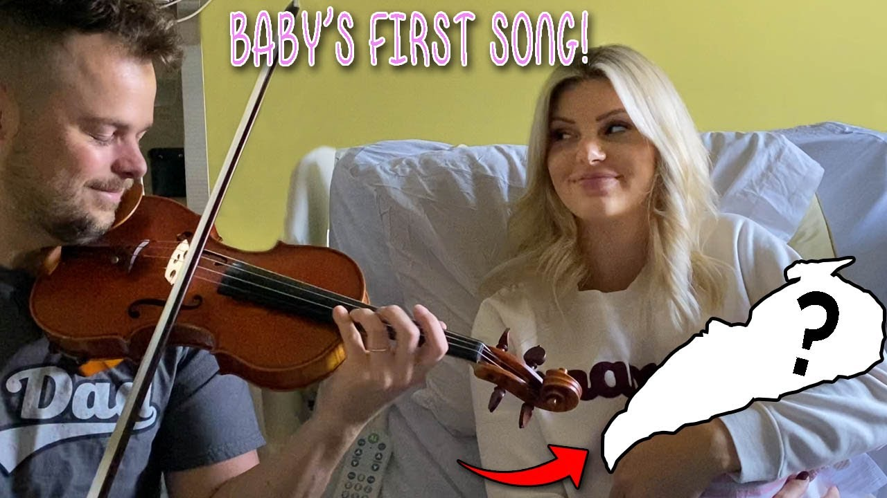 I Played Violin for my NEWBORN at the Hospital! (Birth Story)