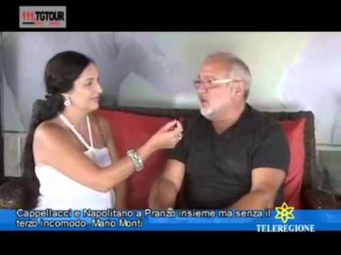 CLAUDIA SABA INTERVISTA FRANCO MONTALBANO