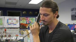 Zlatan Ibrahimovic calls up LA Galaxy season ticket members to thank them for renewing for 2019