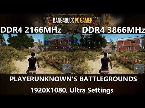 DDR4 2133MHz VS DDR4 3866MHz Gaming Performance | i7 8700K 5GHz | GTX 1080 Ti