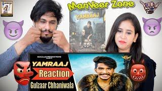 @Gulzaar Chhaniwala || Yamraaj - Official Video Reaction || New Haryanavi Song  || Indian Reaction