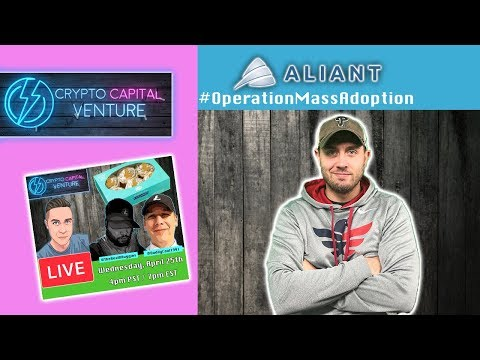Aliants Operation Mass Adoption Contest & Litecoin Live Stream Tonight