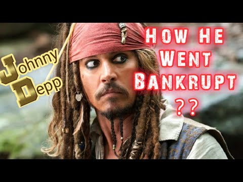 Captain Jack Sparrow | Johnny Depp Almost Went Bankrupt Because Of His Ridiculous Expenses.