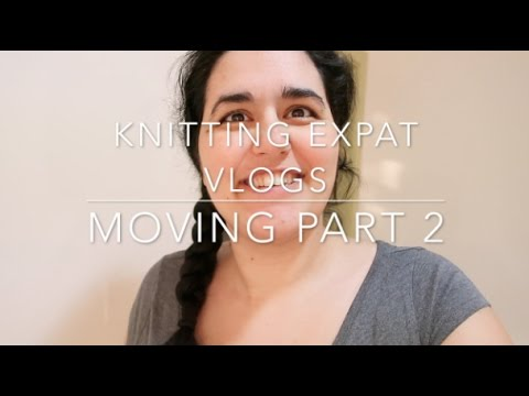 Knitting Expat Vlogs - Moving From Bahrain to New York City - Part 2 - 27 Nov - 1 Dec 2016