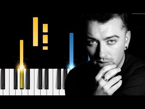 Sam Smith - Burning - Piano Tutorial