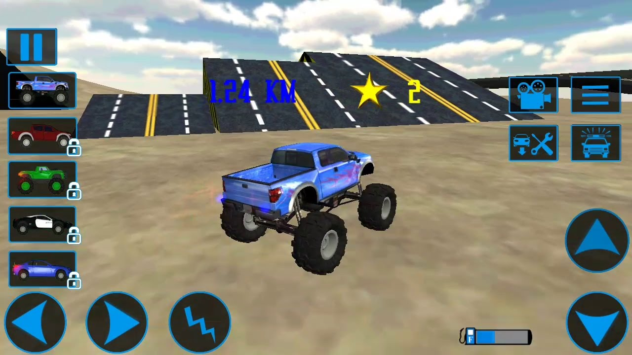 monster truck simulator driving 3d android gameplay trucks for