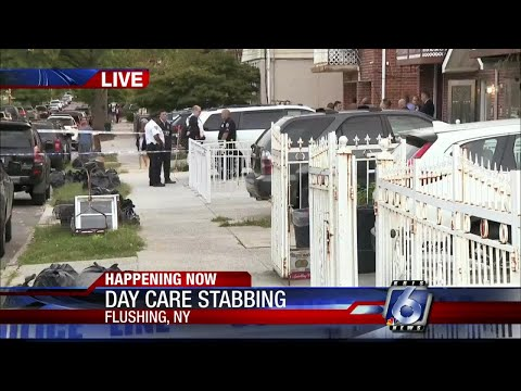 5 people, including 3 babies, stabbed at daycare in New York City