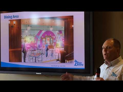 Adam Baumgartner Details Expansion At Blue Bunny Ice Cream Parlor.