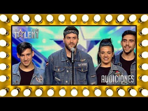 Este grupo de baile se lleva un pase de oro | Audiciones 7 | Got Talent España 2018