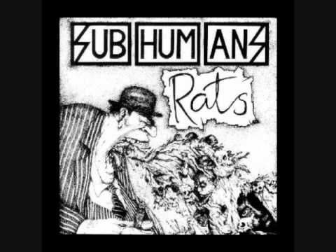 Subhumans - Rats (full album)