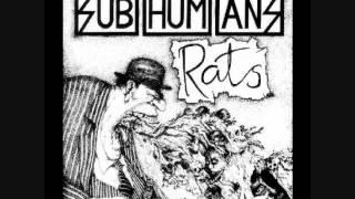 Subhumans - Rats (full album)