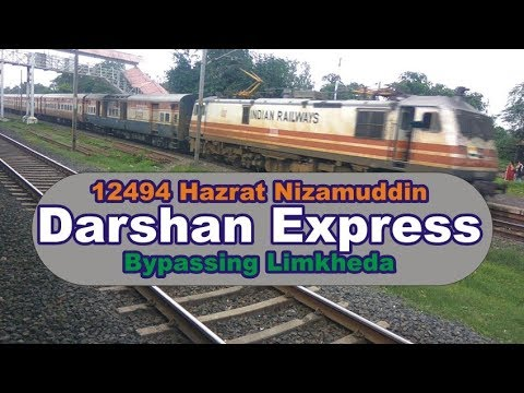 12494 Darshan Express Superfast Express Bypassing Limkheda