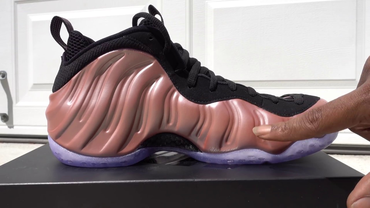 purchase cheap 3f7a8 c600b Rust Pink Air Foamposite One Pick up Vlog #HappySmittyDay