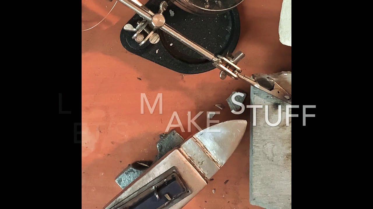 Let's Make Stuff: Finishing a Patina