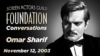 Conversations with Omar Sharif