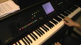 You To Me Are Everything - The Real Thing (Yamaha CVP Clavinova cover with backup)