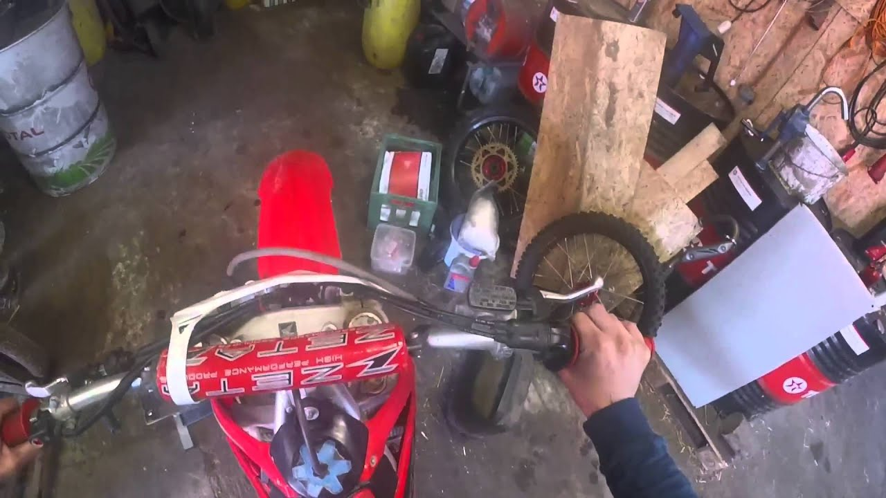 How to start fast cold Honda CRF 250 4t 2010 on direct injection