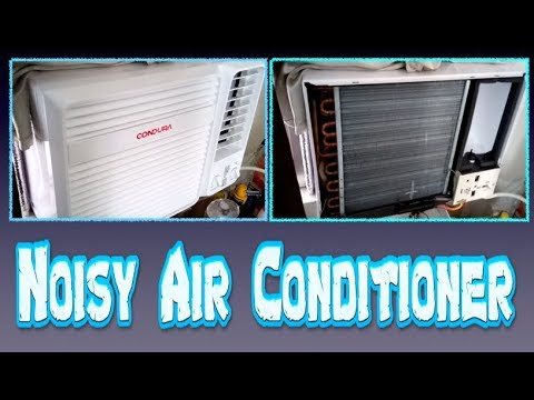 Noisy Air Conditioner Quick Fix & Cause ✅