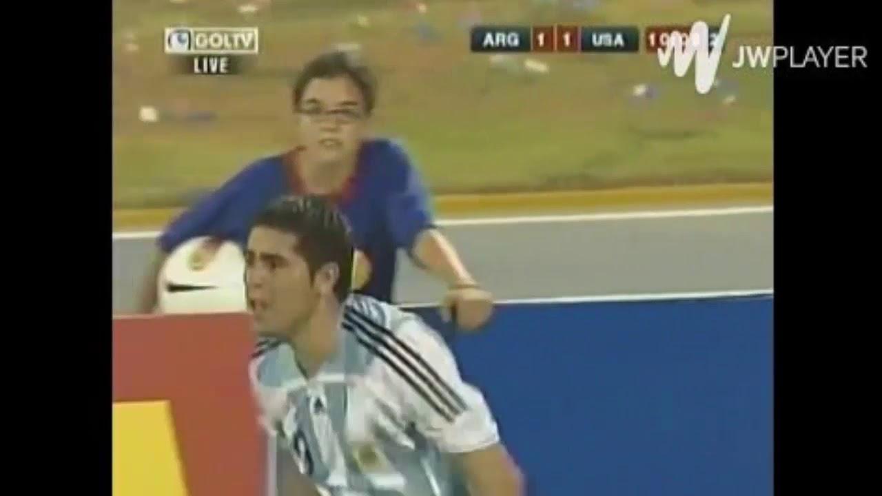 Riquelme vs Estados Unidos Copa América 2007
