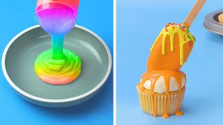 Top Trending Rainbow Cake Decorating Videos For All the Rainbow Cake Lovers | Perfect Unicorn Cake