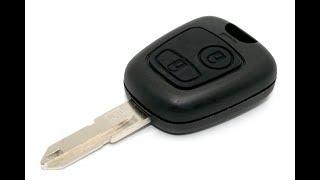 jak opravit klíč peugeot 206 -how to fix key peugeot 206