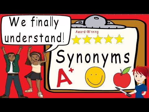 Synonyms | Award Winning Synonym Teaching Video | What Are Synonyms?