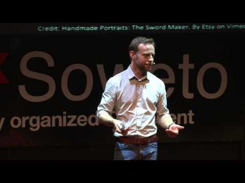 Prostitutes, the Andes, and Japanese sword makers | Pierre du Plessis | TEDxSoweto