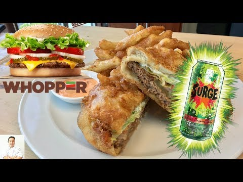 Will It Tempura?   Whopper with Cheese and Surge!