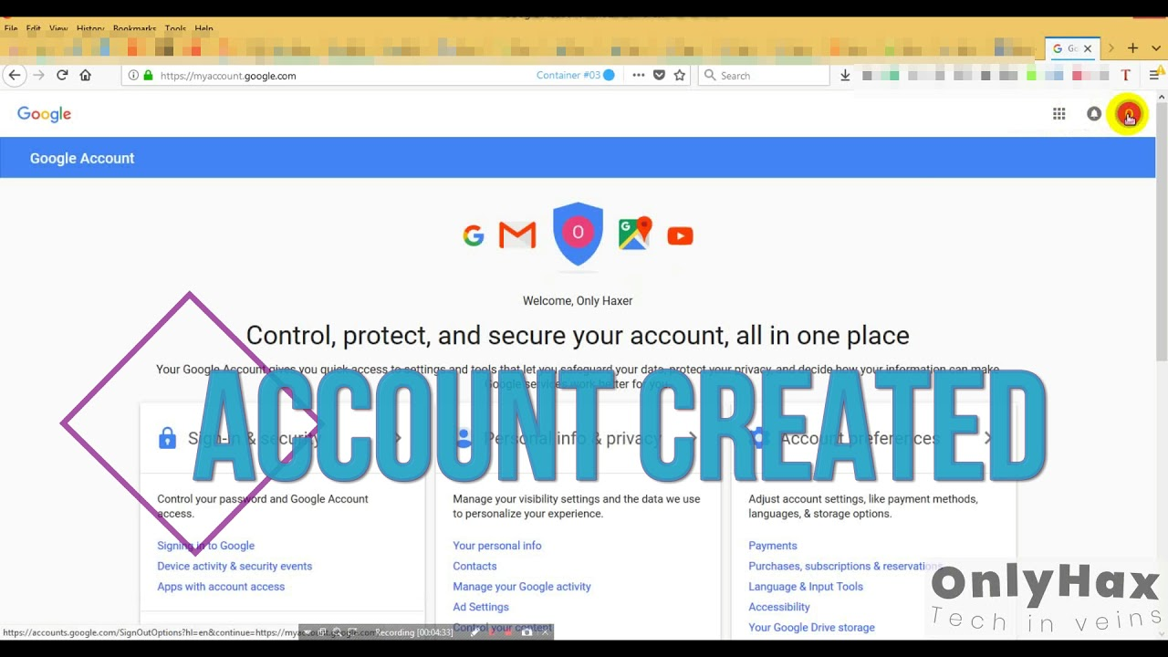 Create Many Gmail Account Without Phone Verification 2018
