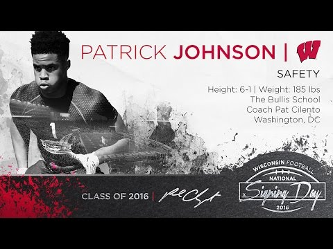 Signing Day 2016  Patrick Johnson