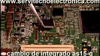 Reparación de tarjetas t con  V315B1 C01  AS15G  tcon v400h1 c3 AS19H1 G avi