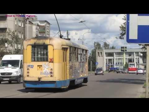 Даугавпилсский трамвай Trams in Daugavpils, Latvia
