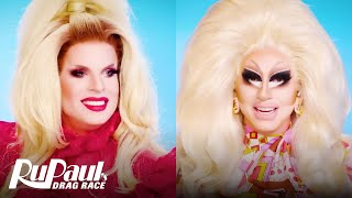 The Pit Stop S13 E16 | Trixie Mattel & Katya Vibe to the Grand Finale 🤣 RuPaul's Drag Race