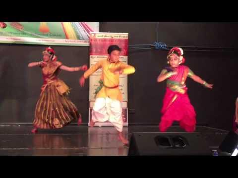 Kavya and aniketh folk dance , mama Bangaru mama