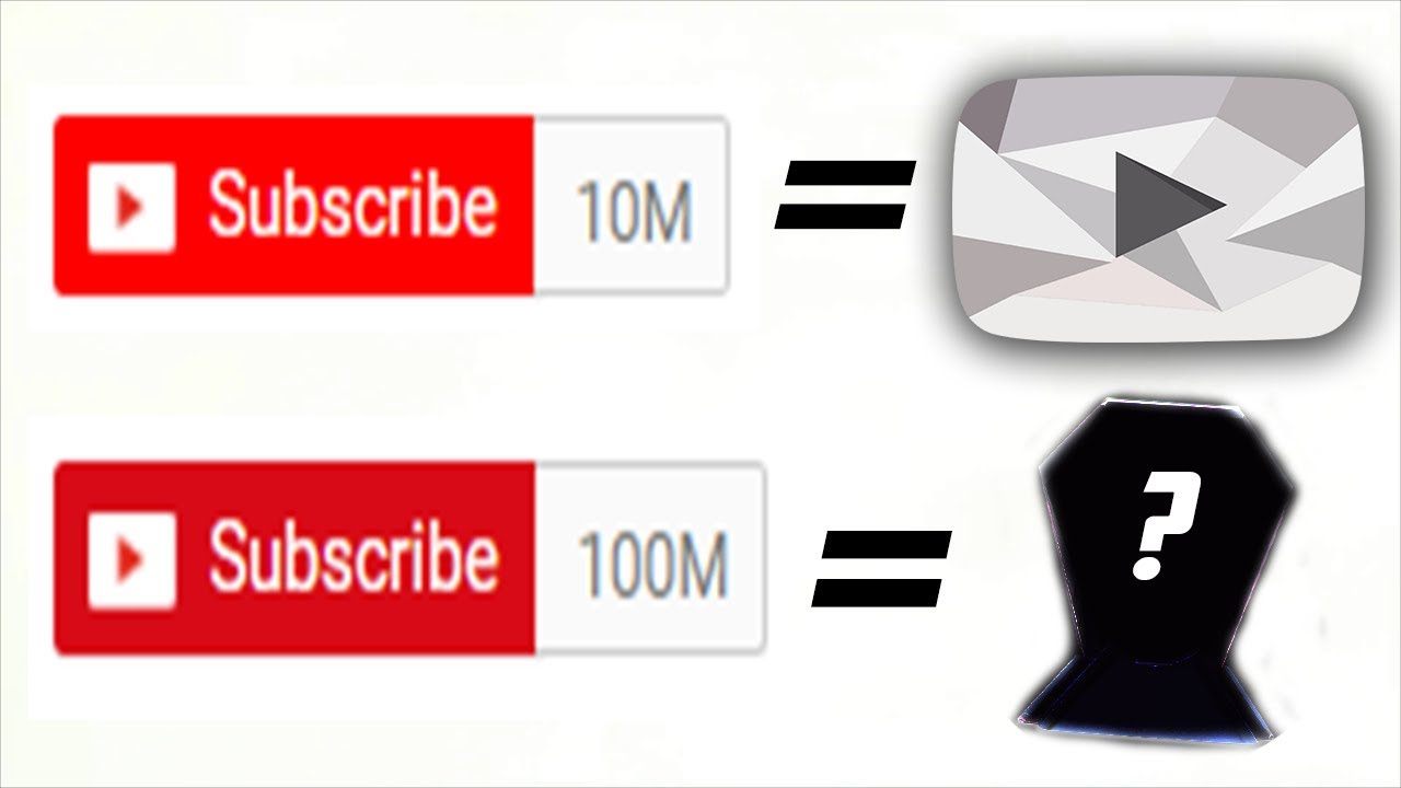e1766ba0282d The New YouTube Award for 100 million Subscribers... what is it ...